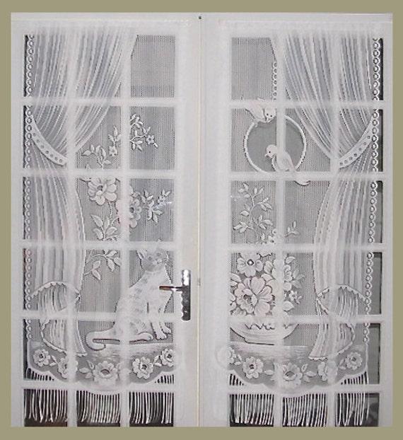Cat Lace Curtains French Lace Curtains French Door Curtains