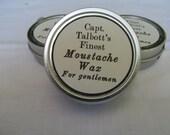 Handmade mustache moustache wax for gentlemen