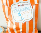 Sip & See Baby Shower PRINTABLE DIY Favor Tags by Love The Day
