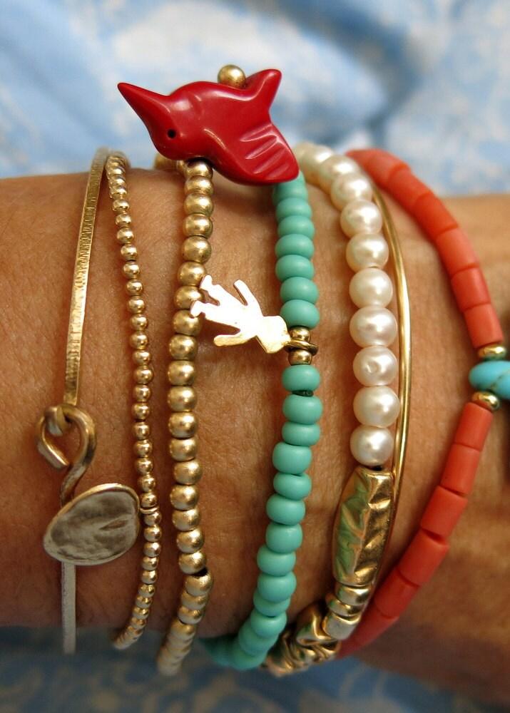 Stacking Bracelets Mix And Match Bracelets by VenexiaJewelry