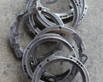 Wrist Watch Case parts -- rings -- set of 8