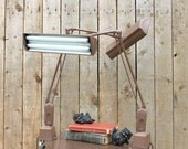 Mid Century Floating Drafting Light Fixture-One available