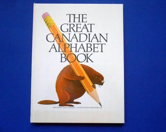 The Great Canadian Alphabet Book, a Vintage Children's ABC Book, Canada