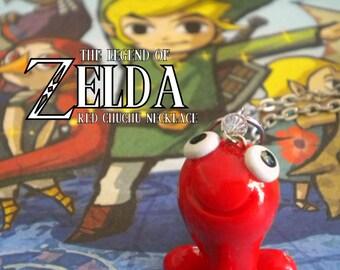 Red ChuChu Necklace - Legend of Zelda - Nintendo