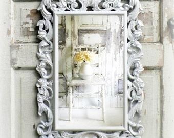 R O S E S Fancy Shabby Chic Mirror Cottage Nursery