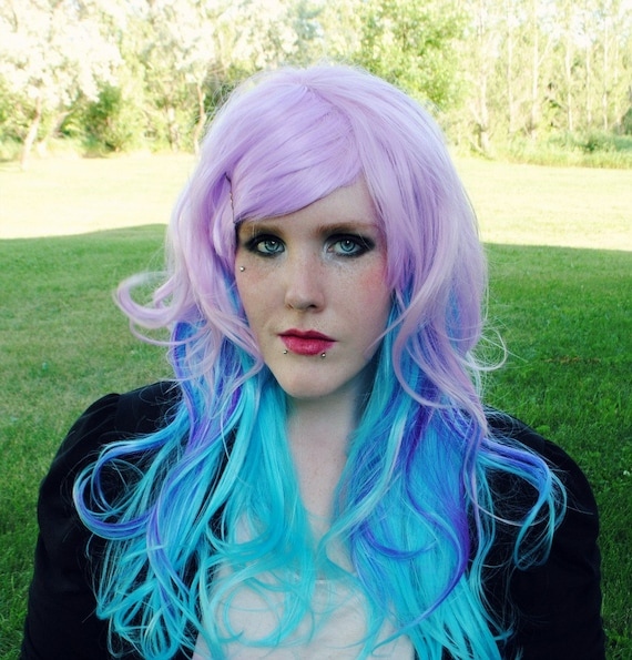 Black And Purple Hair Pinterest