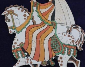 Nursery puzzle by Hammoco Designs Oxford England