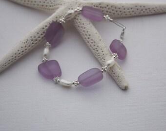Sea Glass Bracelet, Sea Glass Jewelry, Beach Glass Jewelry, Seaglass Jewelry, Beach Glass Bracelet, Wedding Jewelry, Bridal Party Bridesmaid