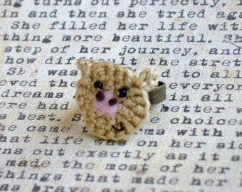 Crochet aPIGurumi Ring