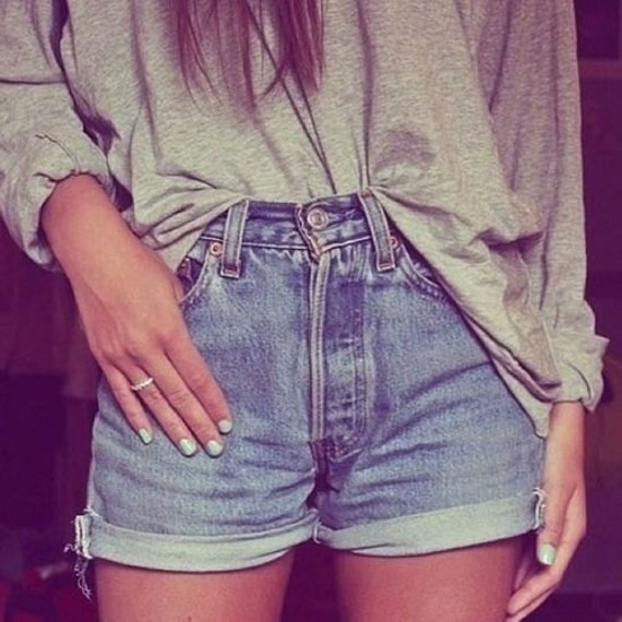 Made to Order- Custom Classic High Waisted Shorts All Sizes