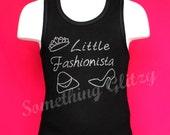 Little Fashionista Tank Top, Tee or LS Tee