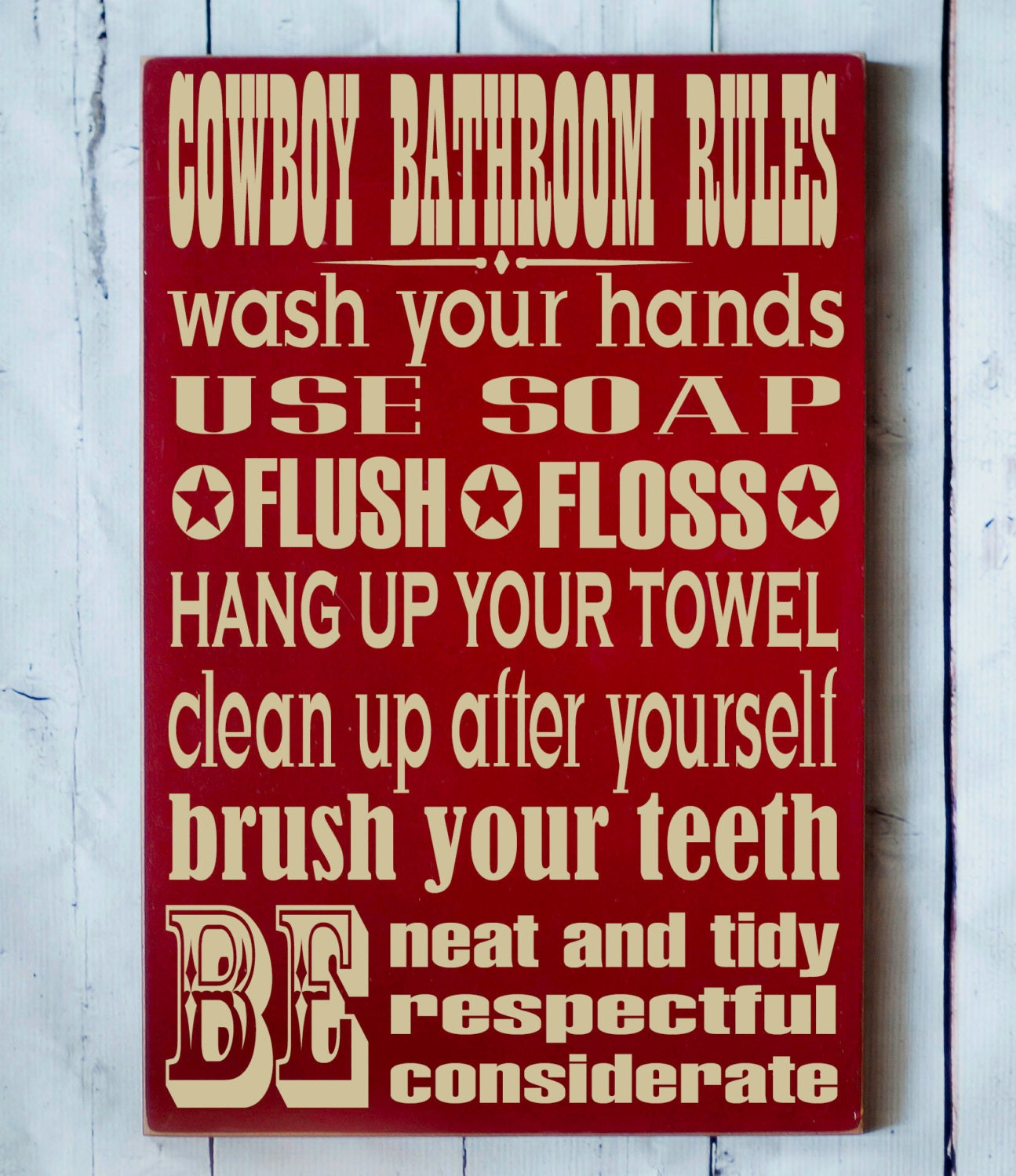 Popular items for cowboy bathroom on Etsy