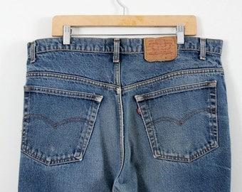 Levi's 517 jeans, vintage 80s American denim, waist 39