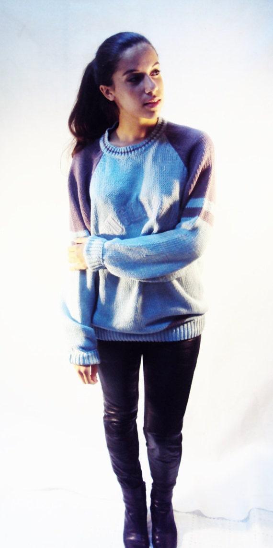 Varsity Sweater OVERSIZE /  90s Bugle Boy / one size