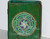 Hecate Wheel wooden box hand painted