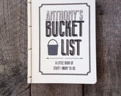 Personalized Bucket List- Pocket Journal- Watercolor Cover