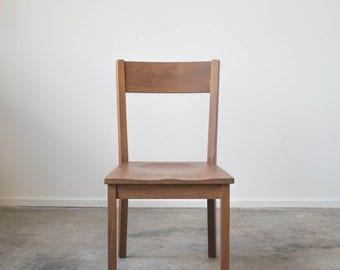 Solid Walnut Ventura Chair - Dining Chair