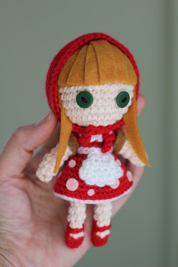 Amigurumi Klesik Doll : Items similar to PATTERN: Red Riding Annie from League of ...