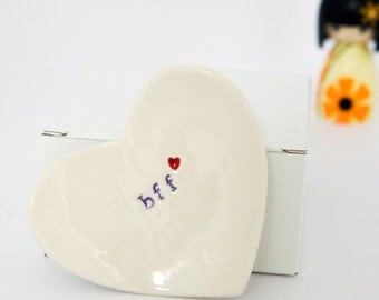 bff Ring Dish Best Friends Forever gift
