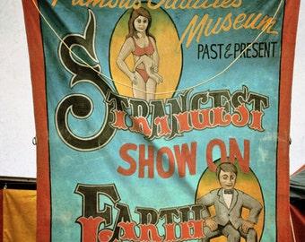 Freak Show Photograph Circus Freaks Wall Art Three Legged Man Side Show Carnival Freaks Print 8x12