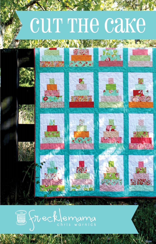 Quilt Pattern Wedding Cake : Cut The Cake Quilt Pattern Precut & Beginner Friendly