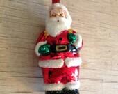 Santa Claus Chrsitmas Ornament Glass