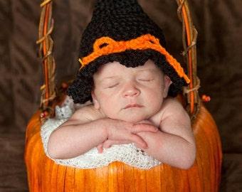 Halloween Witch Hat - Crochet