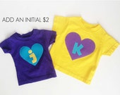 Valentine's Day Heart T Shirt SUPER SALE 6m, 12m, 18m - Heart T Shirt FREE Shipping Grab Bag assorted colors