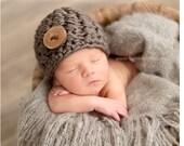 INSTANT DOWNLOAD - Crochet Chunky Beanie Pattern - Crochet Pattern