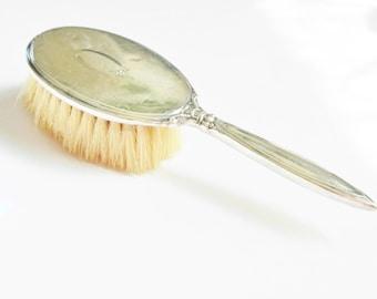 Antique Victorian Birks Sterling Hair Brush