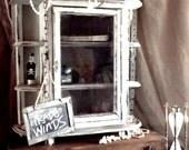 Vintage  TradeWinds Curiosity Cabinet