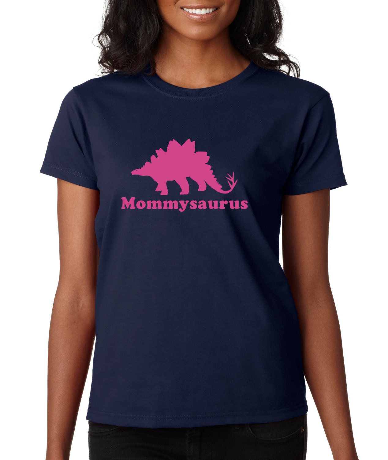Mommy dinosaur t shirt Mothers day gift personalized adult