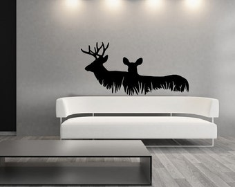 Deer Decal Etsy - Custom vinyl wall decals deer