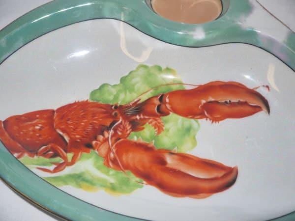 vintage Lobster plate ...