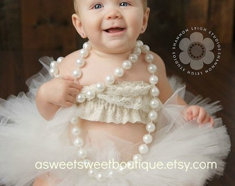 Sweet Amelia Tutu And Tiara Set Stunning Unique Newborn Photo Prop And Princess Halloween Costume Available In Many Colors