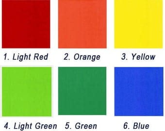 One Color Double Sided Origami Paper - 15cm x 15cm - 30 Sheets