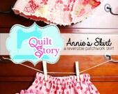 Reversible Girl's Skirt PDF Pattern ANNIE'S SKIRT
