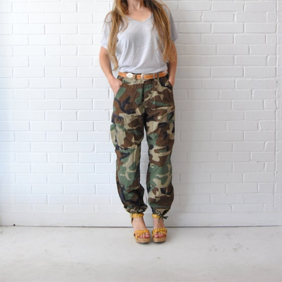 Luxury  Loose Jeans Baggy Camo Pants For Womenin Pants Amp Capris From Women