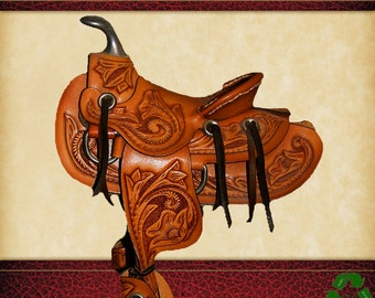 LEATHERWORKING GUIDE ILLUSTRATED How To Make Ornamental Leather Work 87 Pages of Instructions