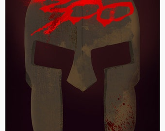 300 Movie Poster Art Print