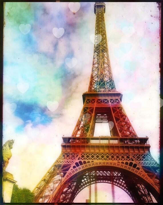 Eiffel Tower Photography Paris Photography Art Print Bokeh