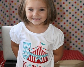 Personalized Circus Shirt