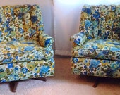 Vintage Floral Chairs