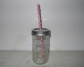 12 oz Mason Jar Tumbler, mason jar mugs, redneck tumblers, rustic tumblers, eco friendly glass, redneck mug, eco friendly tumbler