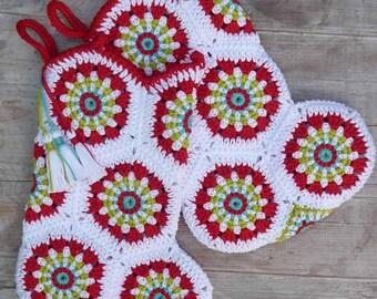 Crochet pattern Christmas stocking by ATERGcrochet