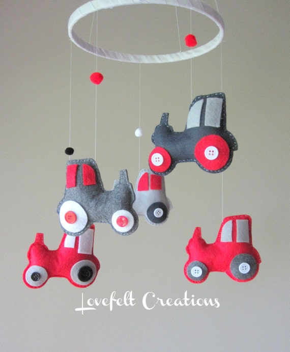 Tractor Mobile For Cribs : Unavailable listing on etsy
