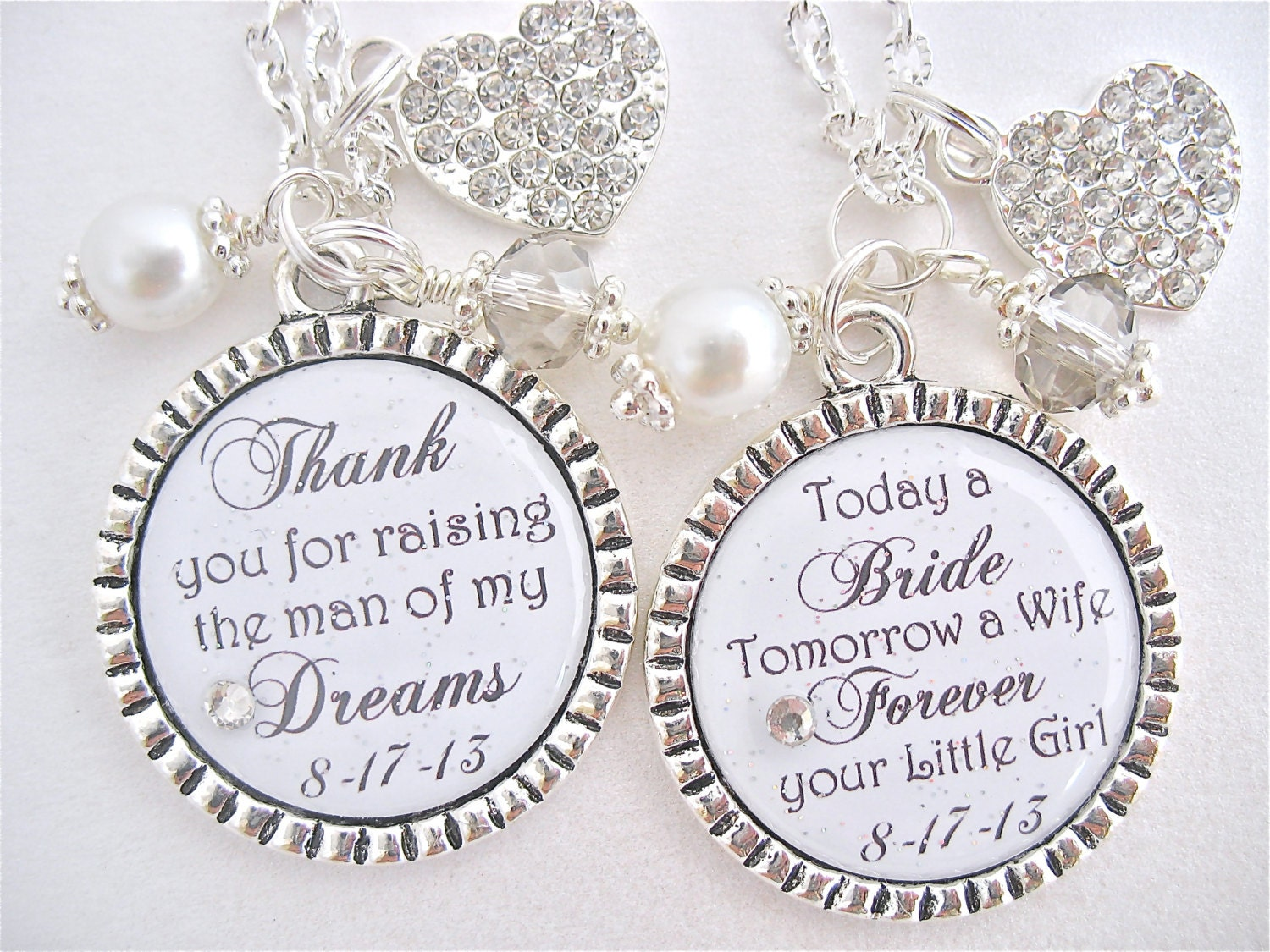 Wedding Gift Ideas For Mother Of The Bride: BRIDAL SHOWER GIFT Mother Of The Bride Necklace Mother Of