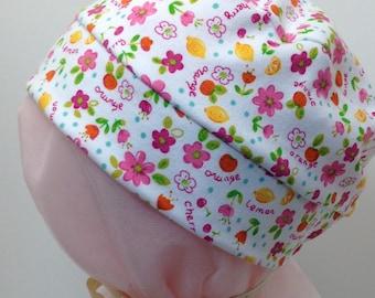 Child Flowers & Fruits Hat