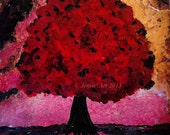 Ruby Tree (Sold, Reserved M)