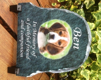 Personalised  Memorial Slate for your Beloved Pet
